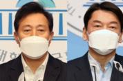 서울시장 초접전 현상...오세훈 38.4 vs 안철수 38.3