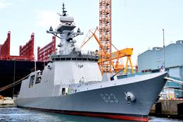 해군, 신형 호위함(FFX Batch-II) 5번함 대전함 진수식 거행